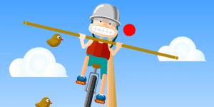 Hra - Balance on rope