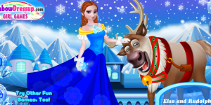 Hra - Rudolph And Elsa In The Frozen Forest