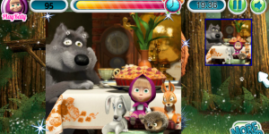 Hra - Masha And The Bear Puzzle