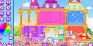 Hra - Princess Doll House 2