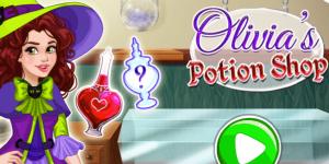 Hra - Olivia's Magic Potion Shop