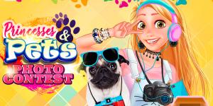 Hra - Princesses and Pets Photo Contest