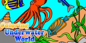 Hra - Coloring Underwater World