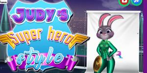 Hra - Judy Super Hero