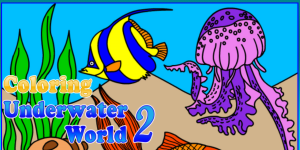 Hra - Coloring Underwater World 2