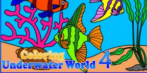 Hra - Coloring Underwater Wolrd 4