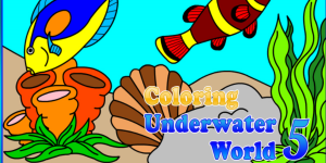 Hra - Coloring Underwater World 5