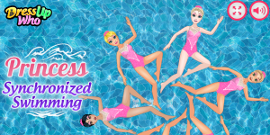 Hra - Princess Synchronized Swimming