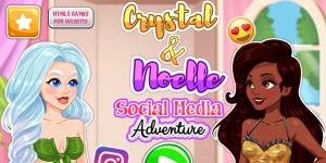 Hra - Crystal and Noelle's Social Media Adventure