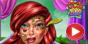 Hra - Princess Mermaid Skin Doctor