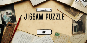 Hra - London Jigsaw Puzzle