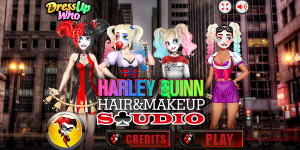 Harley Quinn Hair and Make-up Studio