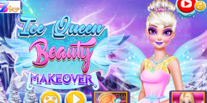 Hra - Ice Queen Beauty Makeover