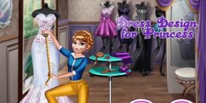 Hra - Dress Design For Princess
