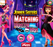 Hra - Jenners Sisters Matching Monster High