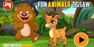 Hra - Fun Animals Jigsaw
