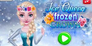 Hra - Ice Queen Frozen Crown