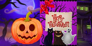 Hra - Happy Halloween Princess Card Designer