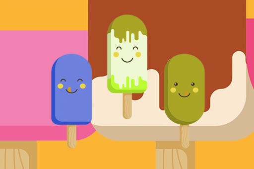 Hra - Yummy Popsicle Memory