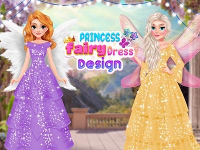 Hra - Princess Fairy Dress Design