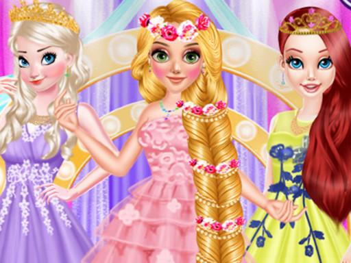 Hra - Long hair Princess Prom