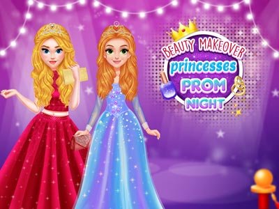 Hra - Beauty Makeover: Princesses Prom Night