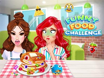 Funny Food Challenge