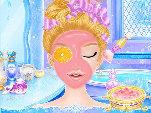 Hra - Princess Salon Frozen Party