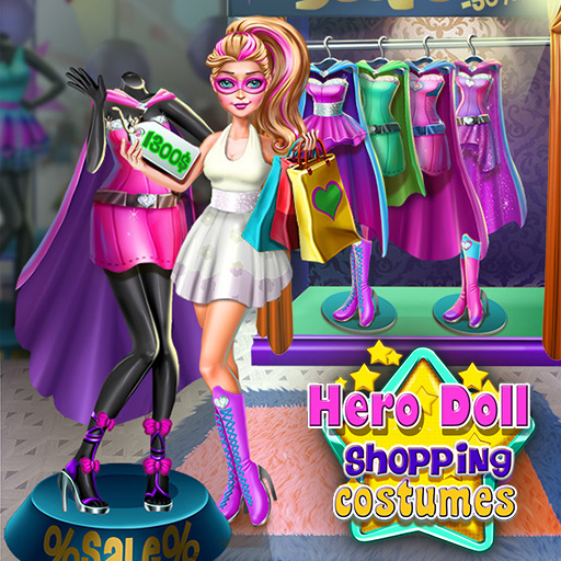 Hra - Hero Doll Shopping Costumes