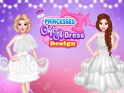 Hra - Princesses Crazy Dress Design