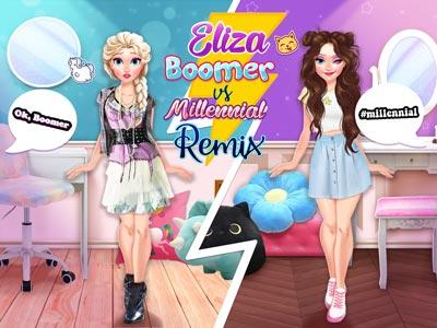 Hra - Eliza Boomer vs Millennial Fashion Remix