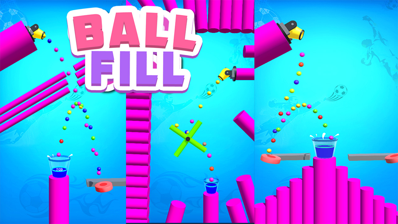 Hra - Ball Fill