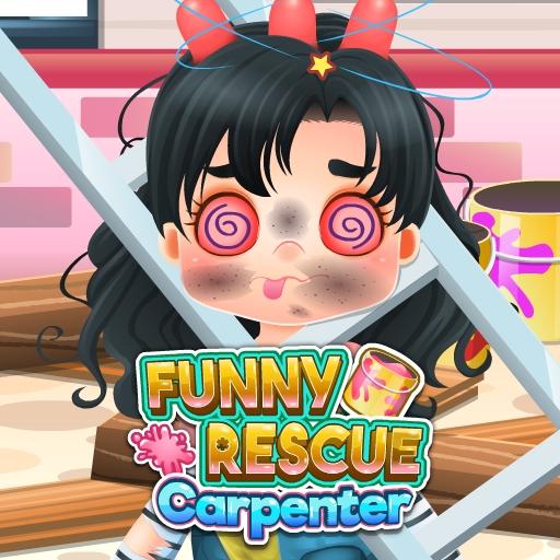 Hra - Funny Rescue Carpenter