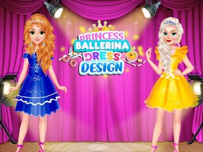 Hra - Princess Ballerina Dress Design