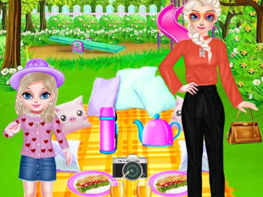 Hra - Princess Family Picnic Day