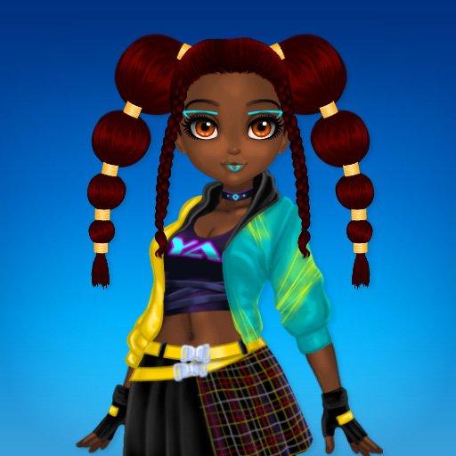 Hra - Cyberpunk Hairstyle 2200