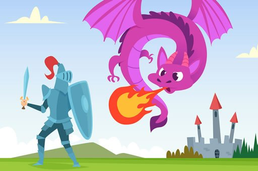 Hra - Knight War Coloring