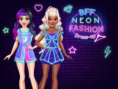 Hra - BFF Neon Fashion Dress Up