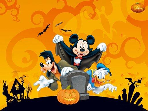 Disney Halloween Jigsaw Puzzle