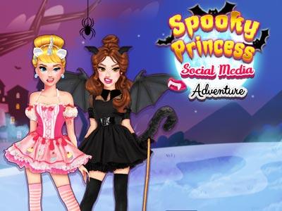 Spooky Princess Social Media Adventure
