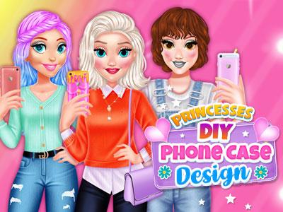 Hra - Princesses DIY Phone Case Design
