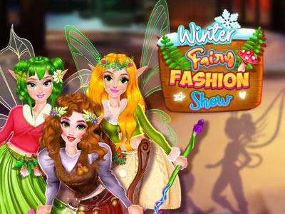 Hra - Winter Fairy Fashion Show