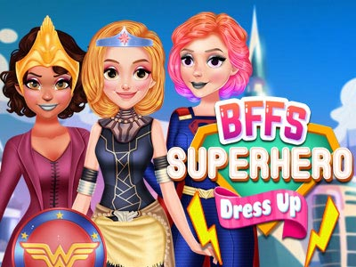 Hra - BFFs Superhero Dress Up