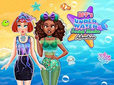 BFFs Underwater Social Media Adventure