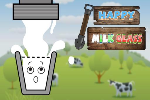 Hra - Happy Milk Glass